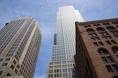 El edificio más alto en Cleveland imagenes de archivo