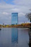 El edificio moderno en Osaka, Japón Fotografía de archivo