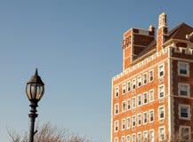 El edificio pasado de moda encantador imagen de archivo
