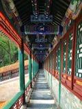 El edificio pintado en China Foto de archivo