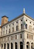 El edificio que contiene ayuntamiento de Padua localizó en Véneto (Italia) Imagenes de archivo