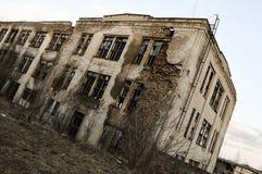 El edificio viejo Fotos de archivo libres de regalías