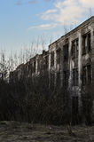 El edificio viejo Imagen de archivo libre de regalías