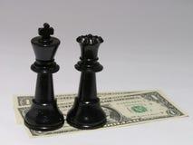 El efectivo es el rey #2 Foto de archivo libre de regalías