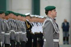 El Ejército alemán Imágenes de archivo libres de regalías