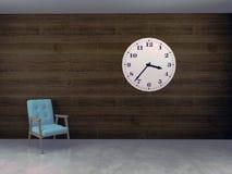 el ejemplo 3D del interior de la sala de espera rinde Fotos de archivo libres de regalías