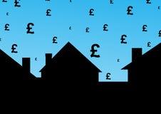 Coste de vivienda en libras libre illustration