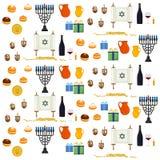 El ejemplo del vector para Jánuca es día de fiesta judío grande