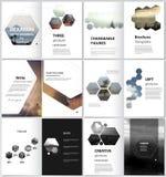 El ejemplo minimalistic del vector de la disposición editable de las cubiertas modernas del formato A4 diseña las plantillas para libre illustration