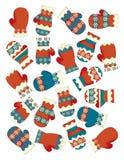 El ejercicio de la Navidad - página del ejemplo y del trabajo para los niños Imágenes de archivo libres de regalías