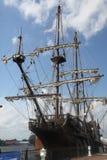 El EL alto español Galeon Andalucía de la nave fotografía de archivo