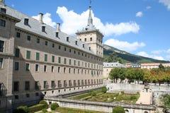 El EL Escorial del monasterio Foto de archivo libre de regalías