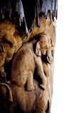 El elefante talla Imagen de archivo libre de regalías