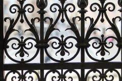 El elemento de las viejas puertas del enrejado imagen de archivo libre de regalías