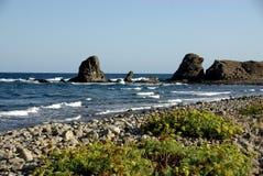 El Embarcadero. Seascape in El Embarcadero, near Almeria, Andalusia Royalty Free Stock Images