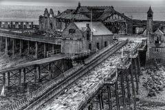 El embarcadero viejo Fotos de archivo libres de regalías