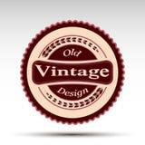 El emblema del vector Diseño del vintage Fotos de archivo