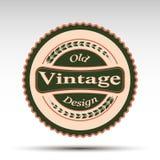 El emblema del vector Diseño del vintage Imagen de archivo libre de regalías