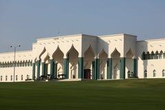 El Emiri Diwan en Doha, Qatar Imágenes de archivo libres de regalías