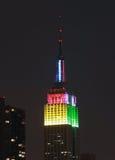 El Empire State Fotografía de archivo