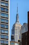 El Empire State Building Fotos de archivo libres de regalías