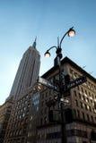 El Empire State Building Imágenes de archivo libres de regalías