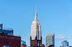 El Empire State Building, Nueva York Imagen de archivo libre de regalías