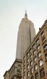 El Empire State en New York City Imagen de archivo