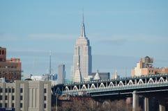El Empire State, New York City Fotografía de archivo