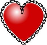 La cadena que ata Foto de archivo libre de regalías