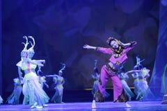 El encanto minnan grande de la danza histórica y cultural Imágenes de archivo libres de regalías