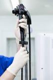El endoscopio Fotos de archivo libres de regalías