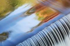 El enlace cae cascada Imagen de archivo libre de regalías