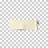 El enmascarar o pedazo de la cinta adhesiva Pieza el enmascarar rasgado vector y de la cinta adhesiva libre illustration