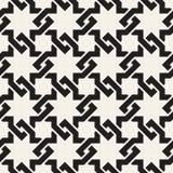 El entrelazamiento inconsútil del vector alinea el modelo Textura abstracta elegante moderna Repetición de las tejas geométricas stock de ilustración