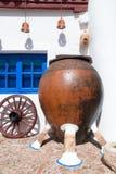 El entrenar en el La Mancha, España. Foto de archivo libre de regalías