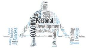 El entrenar personal Imagen de archivo