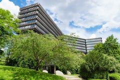 El EPO de la Oficina Europea de Patentes establece jefatura del edificio moderno imagen de archivo libre de regalías