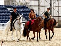 El Equestrian se realiza el 23 de marzo de 2012 en Bahrein Fotos de archivo libres de regalías