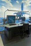El equipo de controladores aéreos Fotografía de archivo