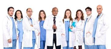 El equipo del doctor fotos de archivo