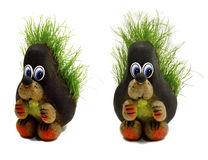 El erizo y la hierba Foto de archivo