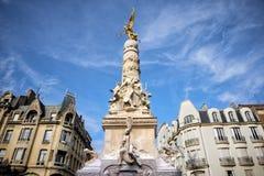 El ` Erlon de Drouet-d del lugar Reims fotografía de archivo libre de regalías