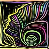 El escape de líneas internas libre illustration
