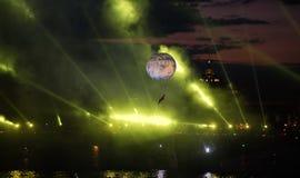 El escarlata navega festival Imagen de archivo