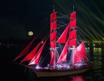 El escarlata navega festival Imágenes de archivo libres de regalías