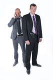 El escolta del hombre de negocios Imagen de archivo