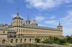el escorial修道院住宅皇家西班牙 免版税库存照片
