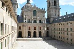 el escorial修道院西班牙 免版税库存照片