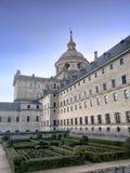 El Escorial宫殿 免版税库存图片
